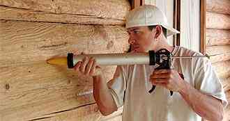 Energy Seal Log Home Sealant